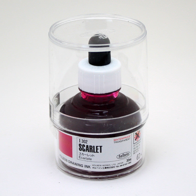 Drawing ink holbein I302 écarlate 30ml