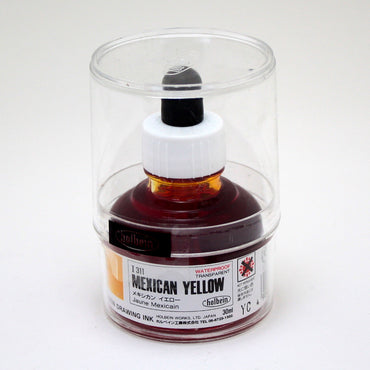 Drawing ink holbein I311 jaune mexicain 30ml