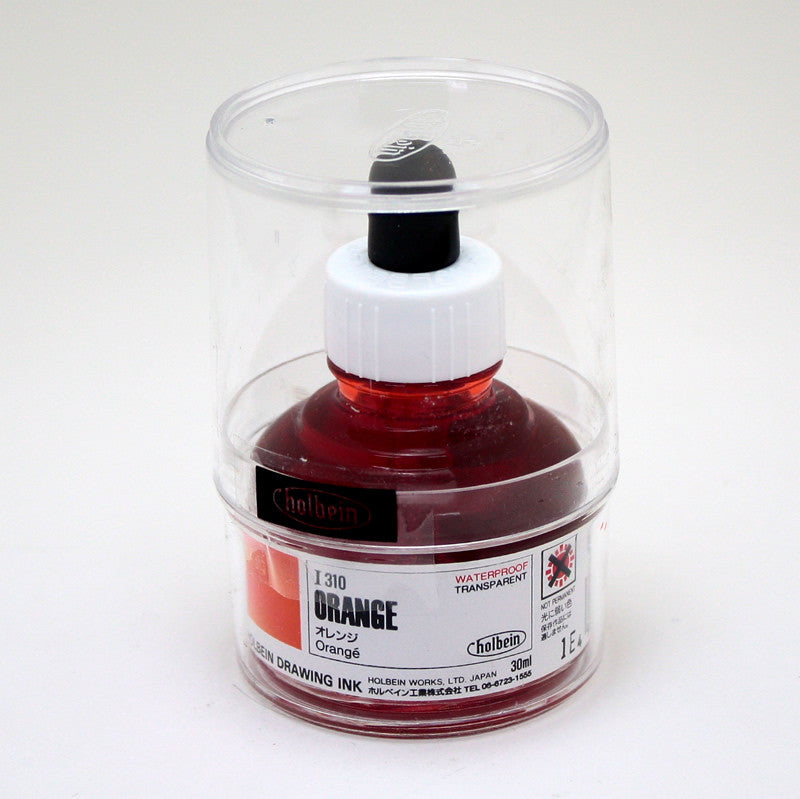 Drawing ink holbein I310 orange 30ml