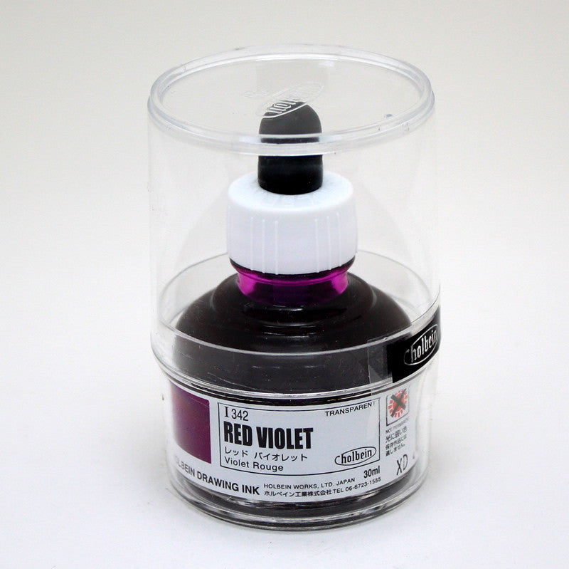 Drawing ink holbein I342 violet rouge 30ml