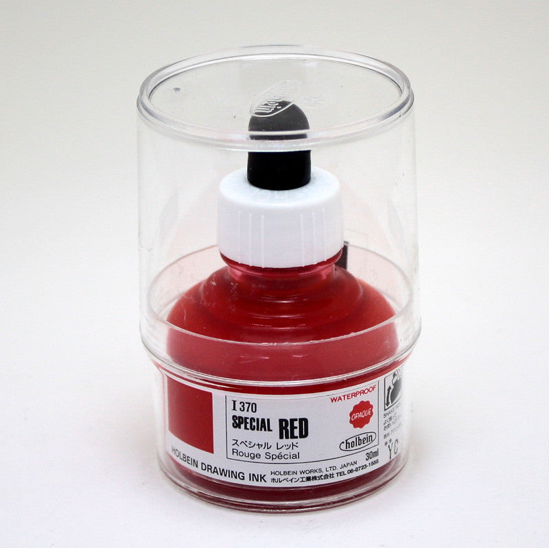 Drawing ink holbein I370 rouge spécial 30ml