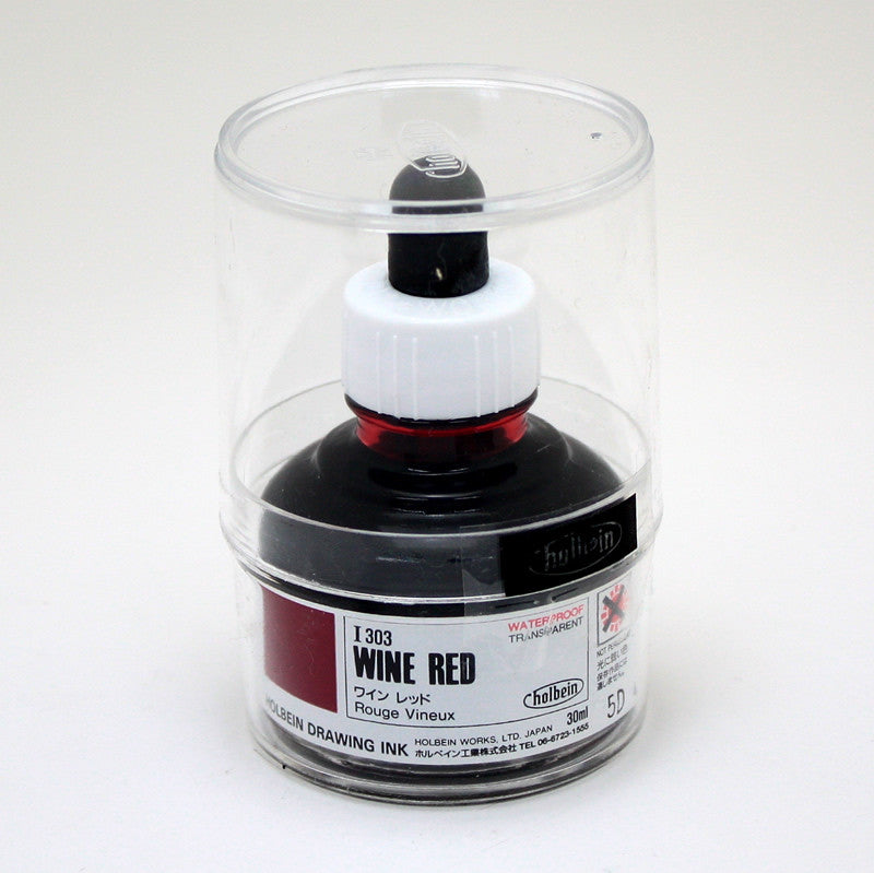 Drawing ink holbein I303 rouge vineux 30ml