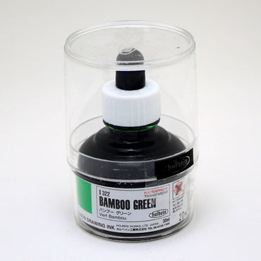 Drawing ink holbein I322 vert bambou 30ml