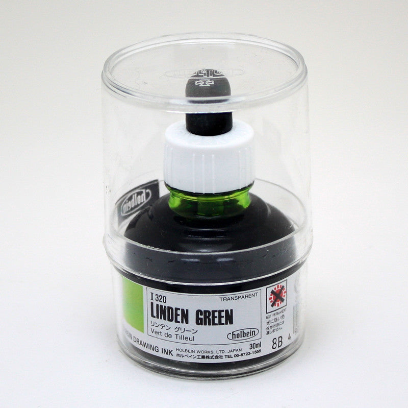 Drawing ink holbein I320 vert de tilleul 30ml