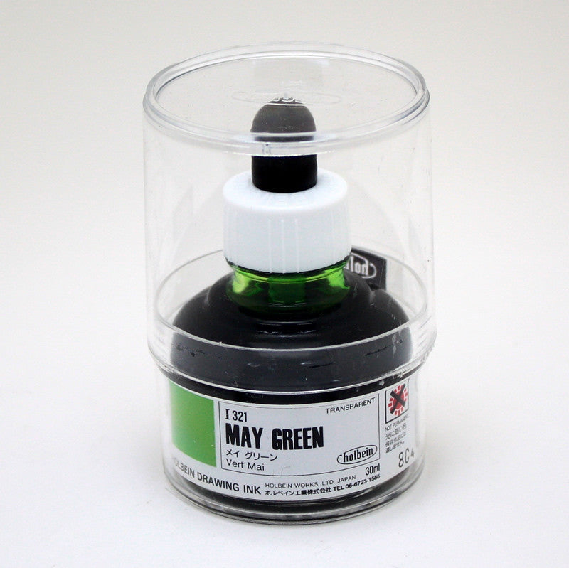Drawing ink holbein I321 vert mai 30ml