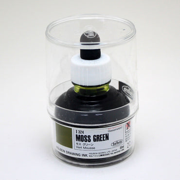 Drawing ink holbein I324 vert mousse 30ml