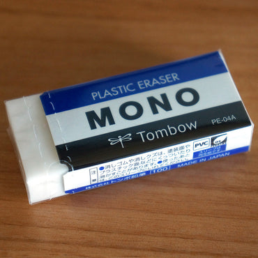 Gomme TOMBOW MONO PLASTIC ERASER PE-04A