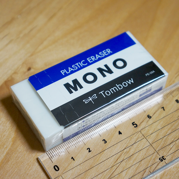Gomme TOMBOW MONO PLASTIC ERASER PE-09A