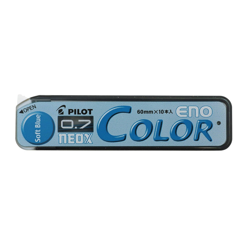 Boite de 10 mines 0.7 PILOT NEOX COLOR ENO soft blue