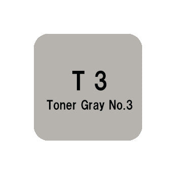 .Too COPIC sketch T3 Toner Gray No.3