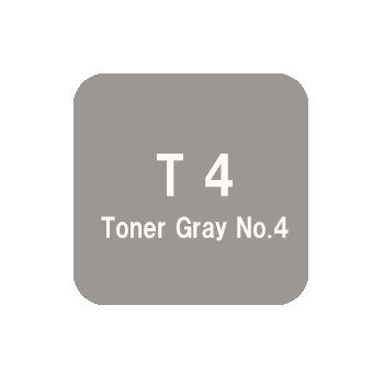 .Too COPIC sketch T4 Toner Gray No.4