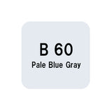 .Too COPIC sketch B60 Pale Blue Gray