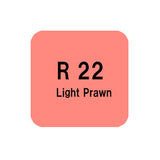 .Too COPIC sketch R22 Light Prawn