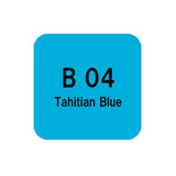 .Too COPIC sketch B04 Tahitian Blue