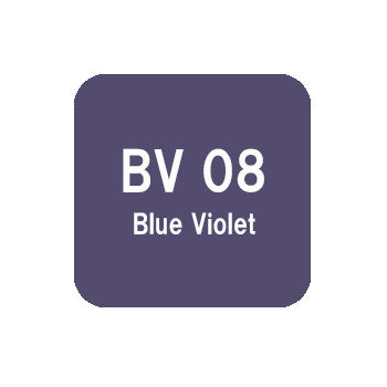 .Too COPIC sketch BV08 Blue Violet