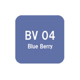 .Too COPIC sketch BV04 Blue Berry