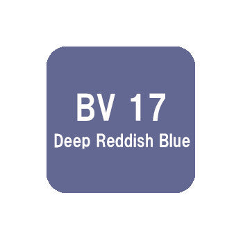 .Too COPIC sketch BV17 Deep Reddish Blue
