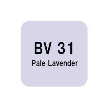 .Too COPIC sketch BV31 Pale Lavender