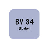 .Too COPIC sketch BV34 Bluebell