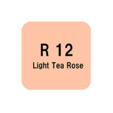.Too COPIC sketch R12 Light Tea Rose