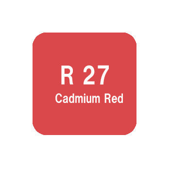 .Too COPIC sketch R27 Cadmium Red