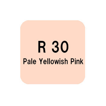 .Too COPIC sketch R30 Pale Yellowish Pink