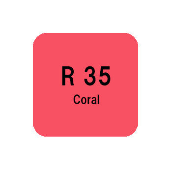 .Too COPIC sketch R35 Coral