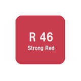 .Too COPIC sketch R46 Strong Red