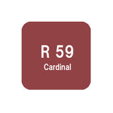 .Too COPIC sketch R59 Cardinal