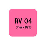 .Too COPIC sketch RV04 Shock Pink
