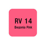 .Too COPIC sketch RV14 Begonia Pink