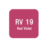 .Too COPIC sketch RV19 Red Violet