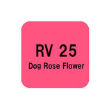 .Too COPIC sketch RV25 Dog Rose Flower