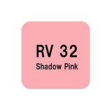 .Too COPIC sketch RV32 Shadow Pink