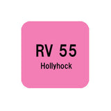 .Too COPIC sketch RV55 Hollyhock