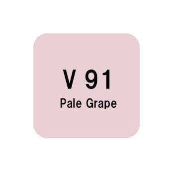 .Too COPIC sketch V91 Pale Grape