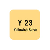 .Too COPIC sketch Y23 Yellowish Beige