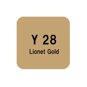 .Too COPIC sketch Y28 Lionet Gold
