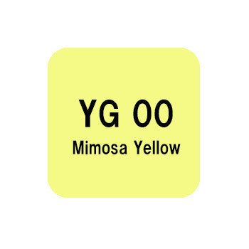 .Too COPIC sketch YG00 Mimosa Yellow