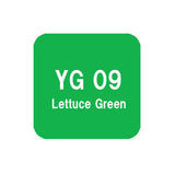 .Too COPIC sketch YG09 Lettuce Green