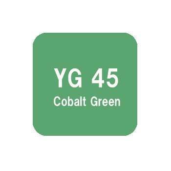 .Too COPIC sketch YG45 Cobalt Green