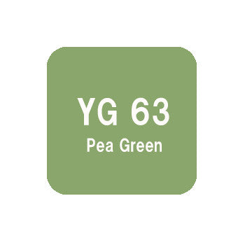 .Too COPIC sketch YG63 Pea Green