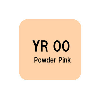 .Too COPIC sketch YR00 Powder Pink