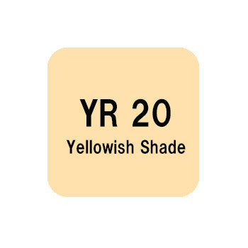 .Too COPIC sketch YR20 Yellowish Shade