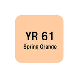.Too COPIC sketch YR61 Spring Orange
