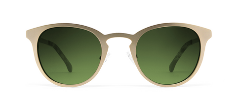 Alpha Gold com Lentes Verdes Wholesale