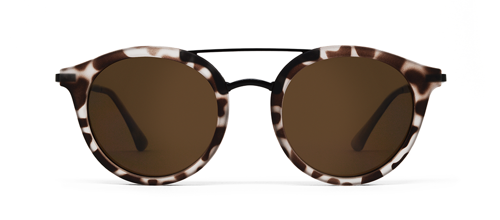 Beta Gelo Tortoise com Lentes Marrons Wholesale