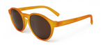 Orbit Laranja Com Lentes Marrons