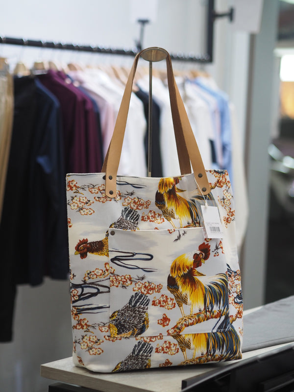 White Rooster - Ignis Tote Bag