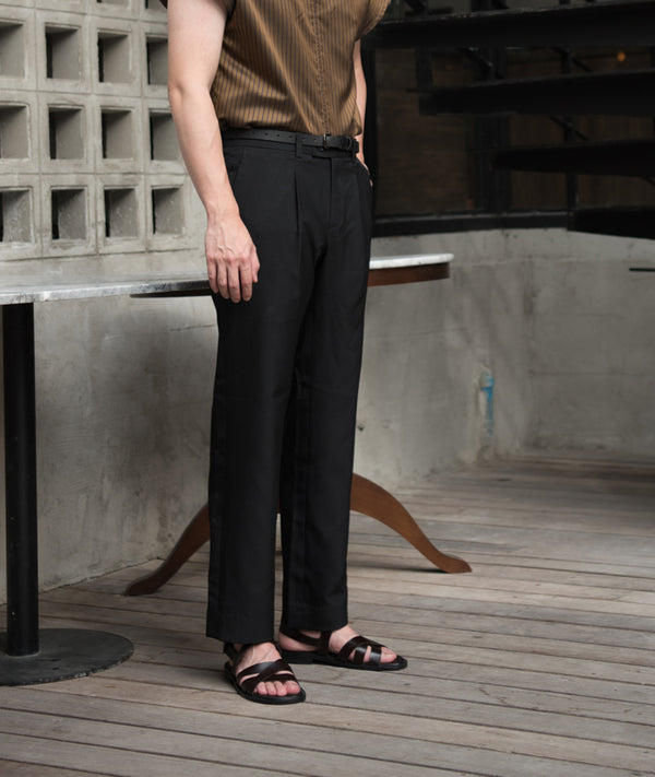 Black - Wide leg trousers